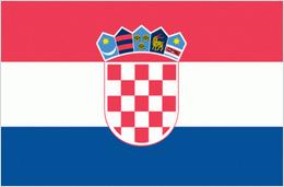vlag bij cursus kroatisch